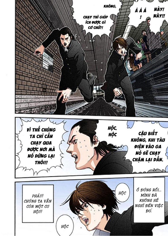 Gantz Chap 01: Tai nạn trang 25