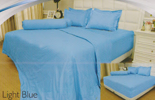 sprei Internal Vallery Light Blue