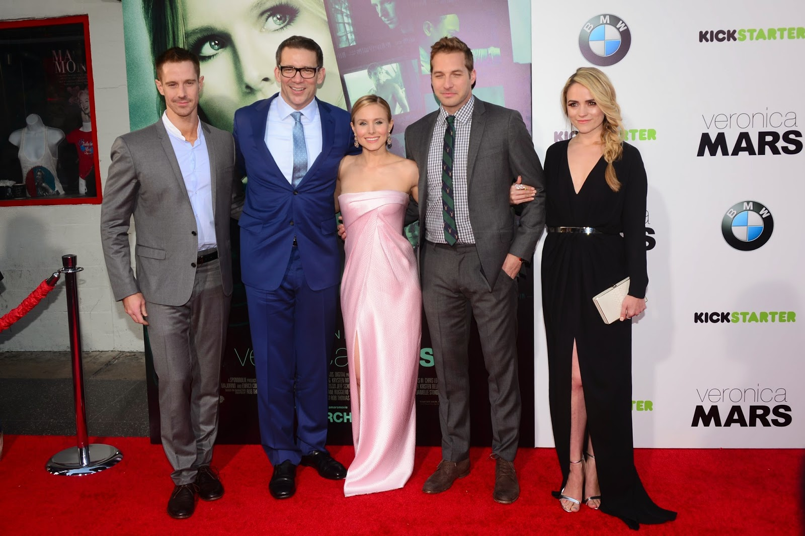 """Veronica Mars"" movie Premiere with Cast: HD Pictures"
