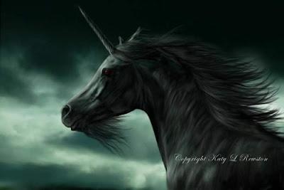Pintura de un unicornio