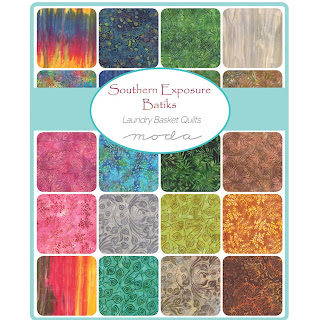 Moda Southern Exposure Batiks Fabric by Laundry Basket Quilts for Moda Fabrics