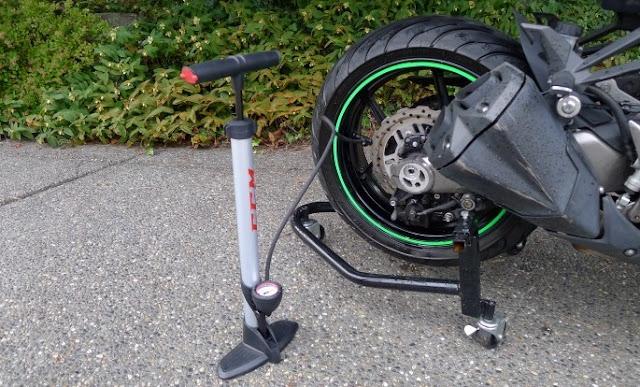 tekanan angin ideal ban motor
