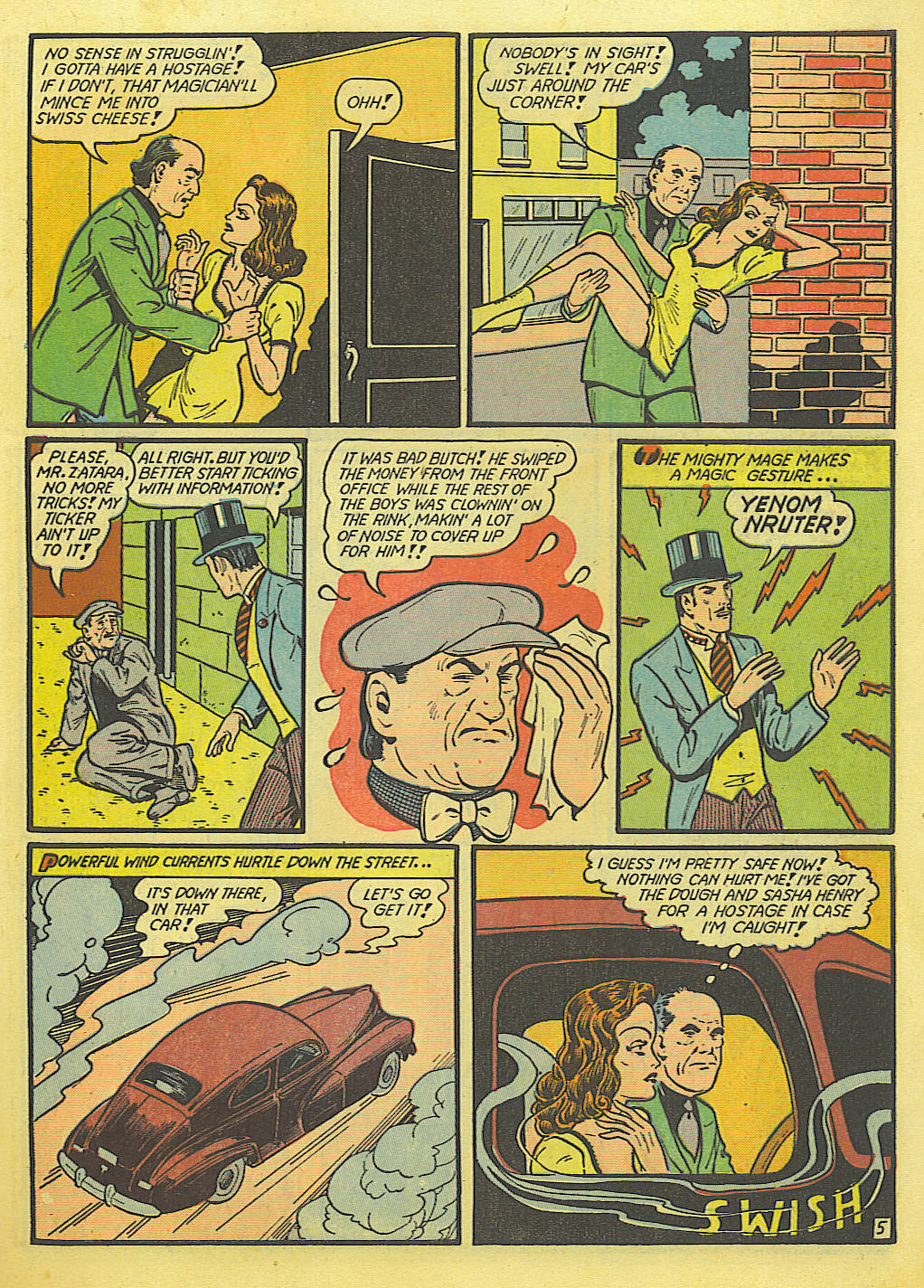 Read online Action Comics (1938) comic -  Issue #52 - 61