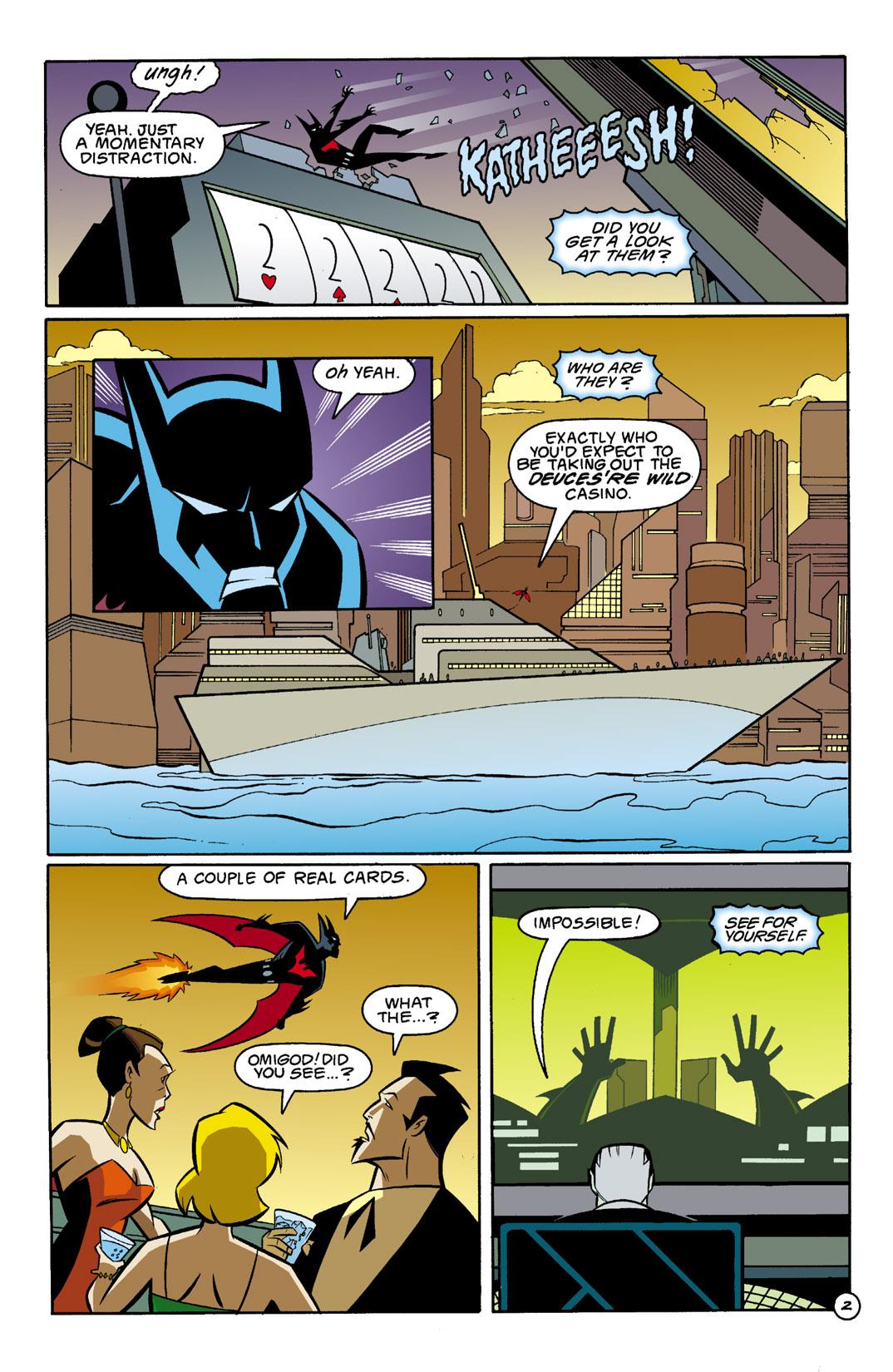 Batman Beyond [II] Issue #4 #4 - English 3