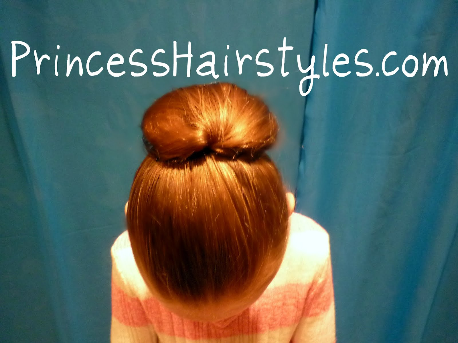 this sleek bun is very simple and quick we use. 1600 x 1200.Cute Hairstyles 7 Year Olds