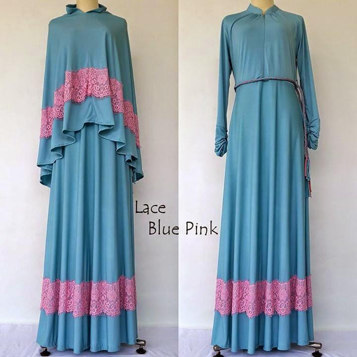 model baju long dress muslimah
