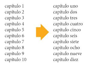 Conversión de número a letra en InDesign