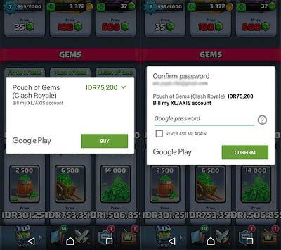 Cara Dapat Gratis Gems Clash Royale Tanpa Kartu Kredit