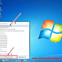 Cara Mudah Mengamankan Flashdisk dengan Password (Bitlocker)