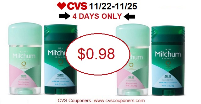 http://www.cvscouponers.com/2017/11/hot-pay-089-for-mitchum-deodorant-at.html