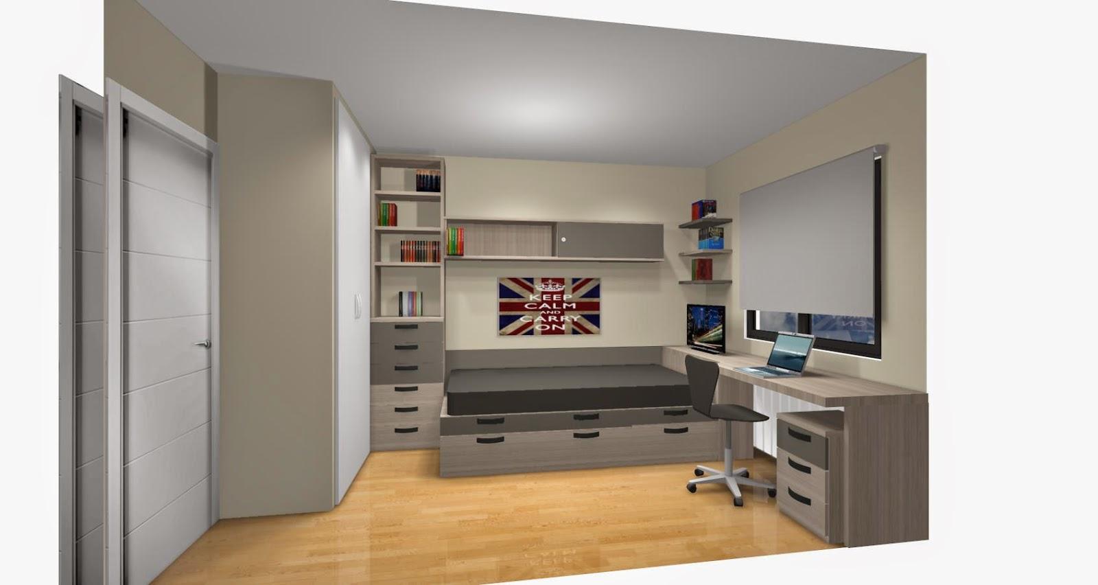 5 consejos para elegir los colores de un dormitorio - Habitacion juvenil chico ...