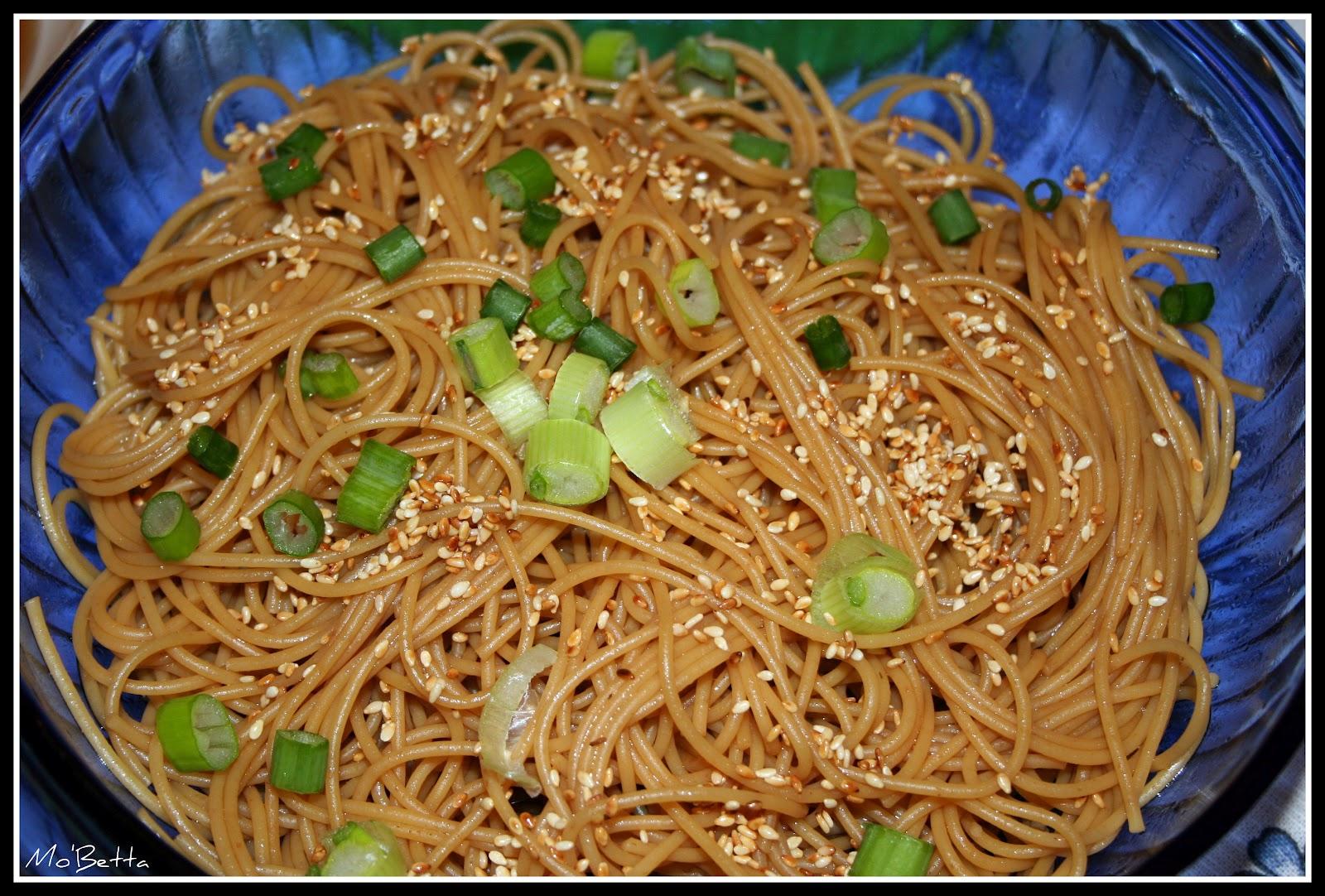 Hibachi Soup and Sesame Noodles – Makin' it Mo'Betta