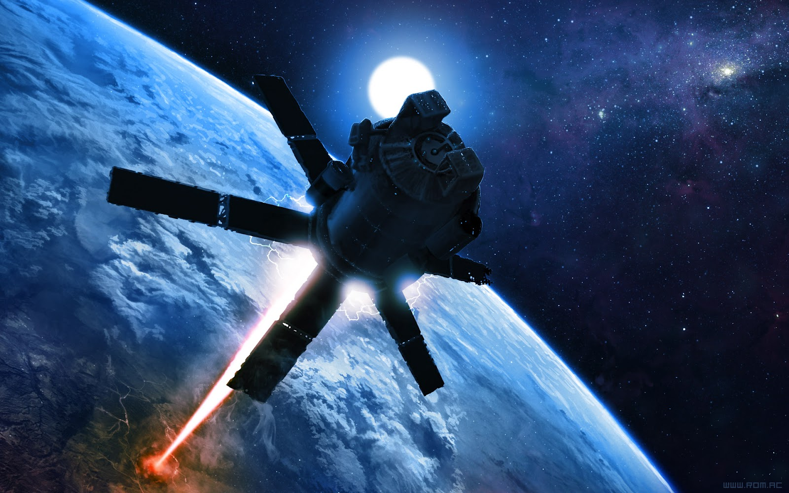 Risultati immagini per Project Thor, missile satellite cinetic