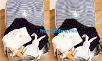 Logo Vinci gratis 4 valige per il parto con prodotti Petit Bateau e Envie de Fraise da 600€