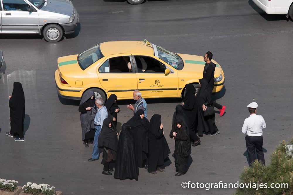 Taxis en Irán