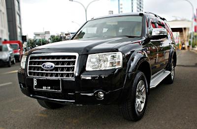 Eksterior Ford Everest Gen 2