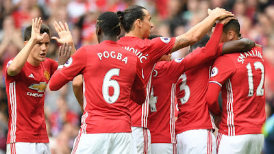 Man Utd vs Leicester: Red Devils thrash champions without Rooney
