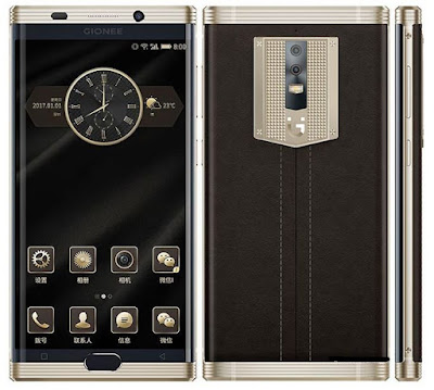 Latest Gionee M2017
