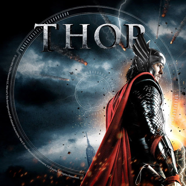 Label DVD/Bluray Thor