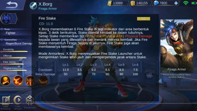 skill kedua X.Borg ML