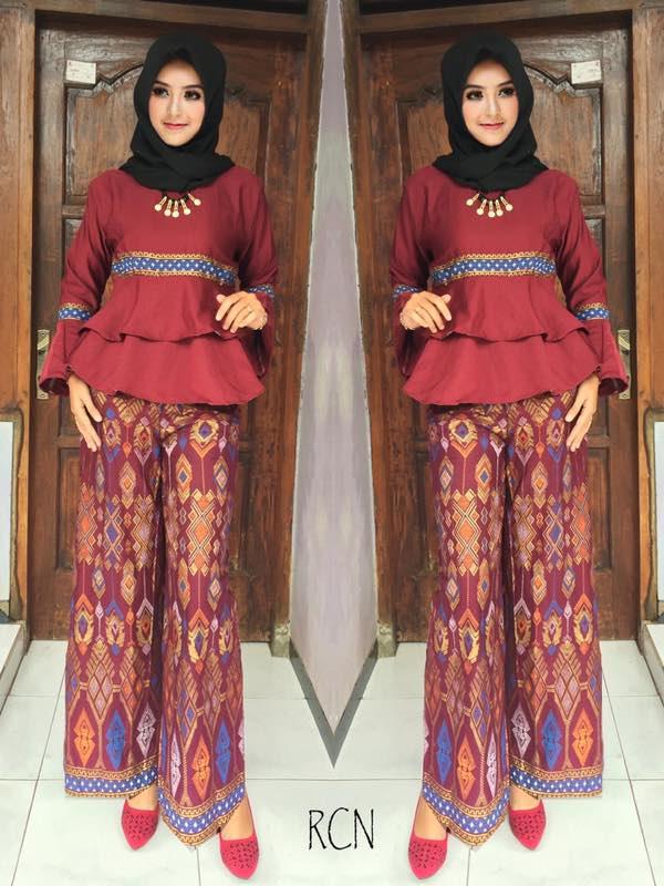 Baju Batik Setelan Celana