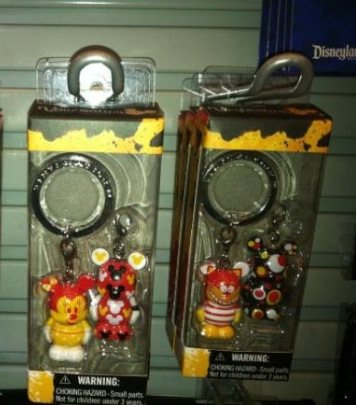 Mysterious new keychains
