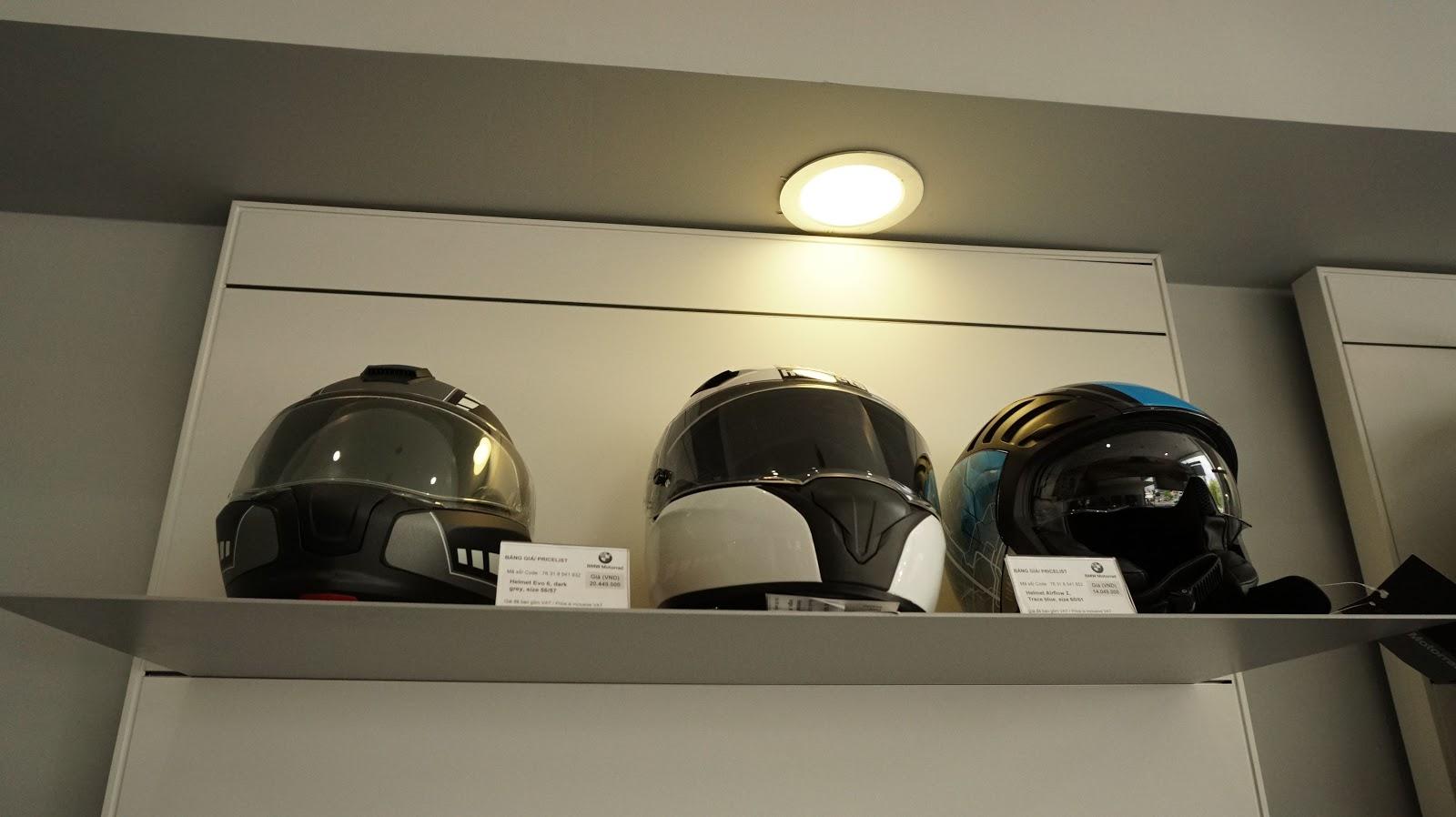 Mũ bảo hiểm là thiết bị bảo hộ quan trọng nhất, nên chất lượng nó luôn phải cao nhất