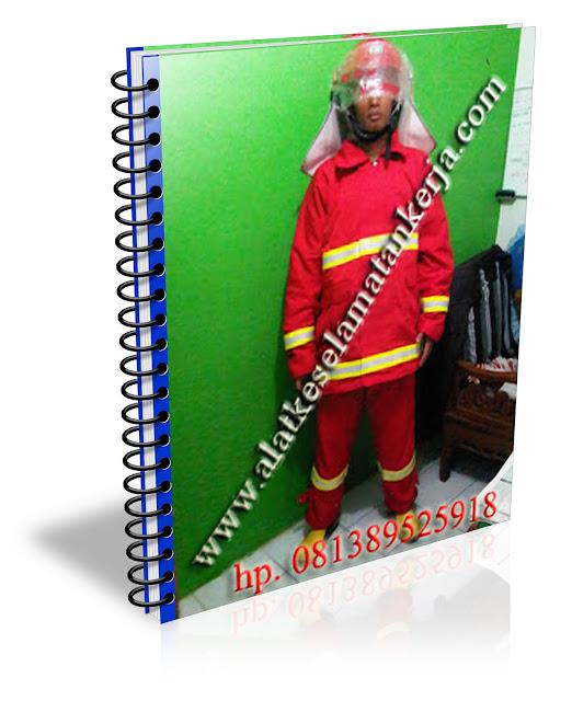 Peralatan Baju Pemadam Kebakaran NomexIIIA Orange