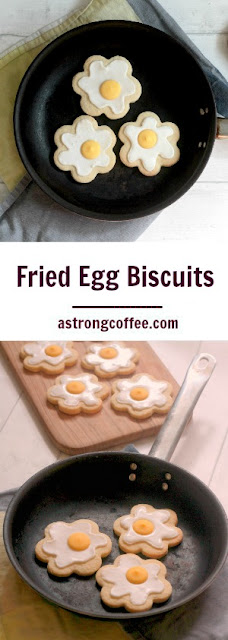 Easy to make fried egg biscuits