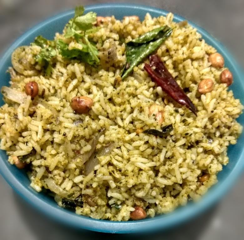 Image result for karivepaku podi with rice