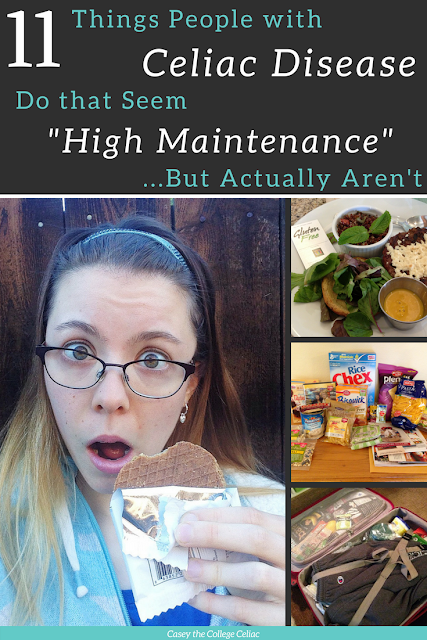 "11 Things People with Celiac Disease Do That Seem ""High Maintenance"" But Actually Aren't"