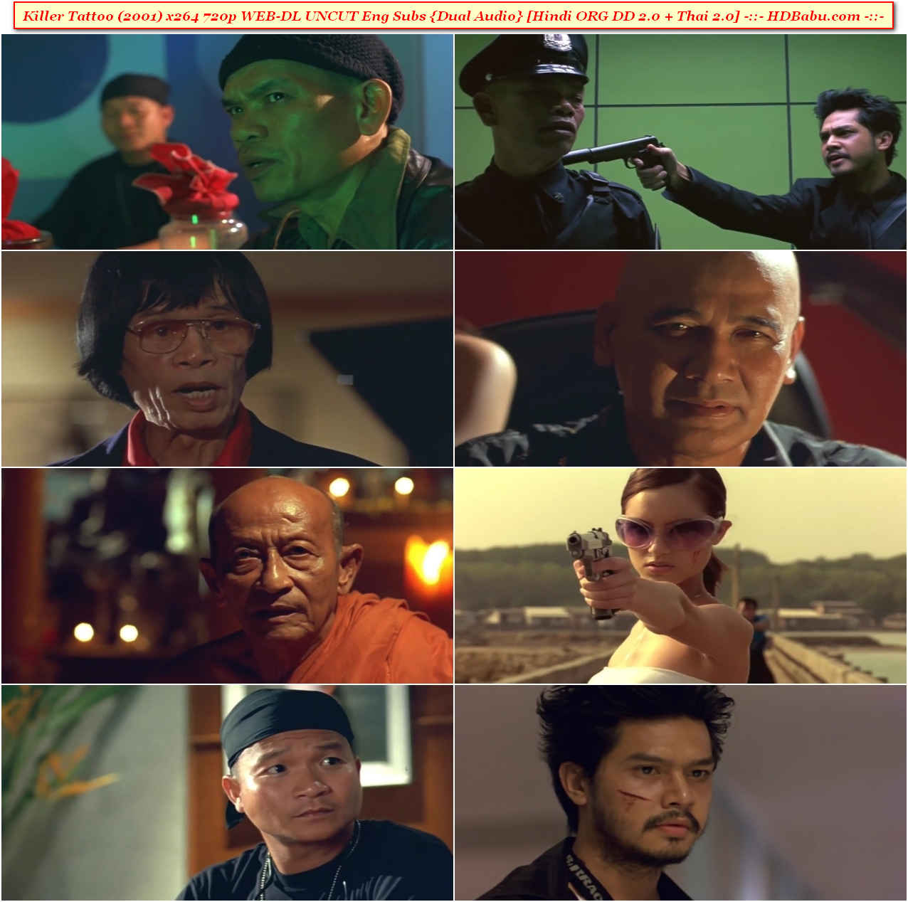 Killer Tattoo Hindi Dual Audio Full Movie Download
