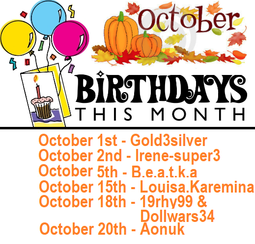 Sept Birthday List