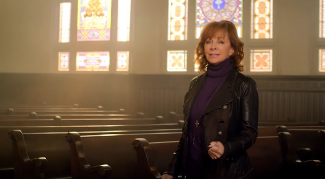 "A Screen Capture From Reba McEntire's Video - ""Back To God"""