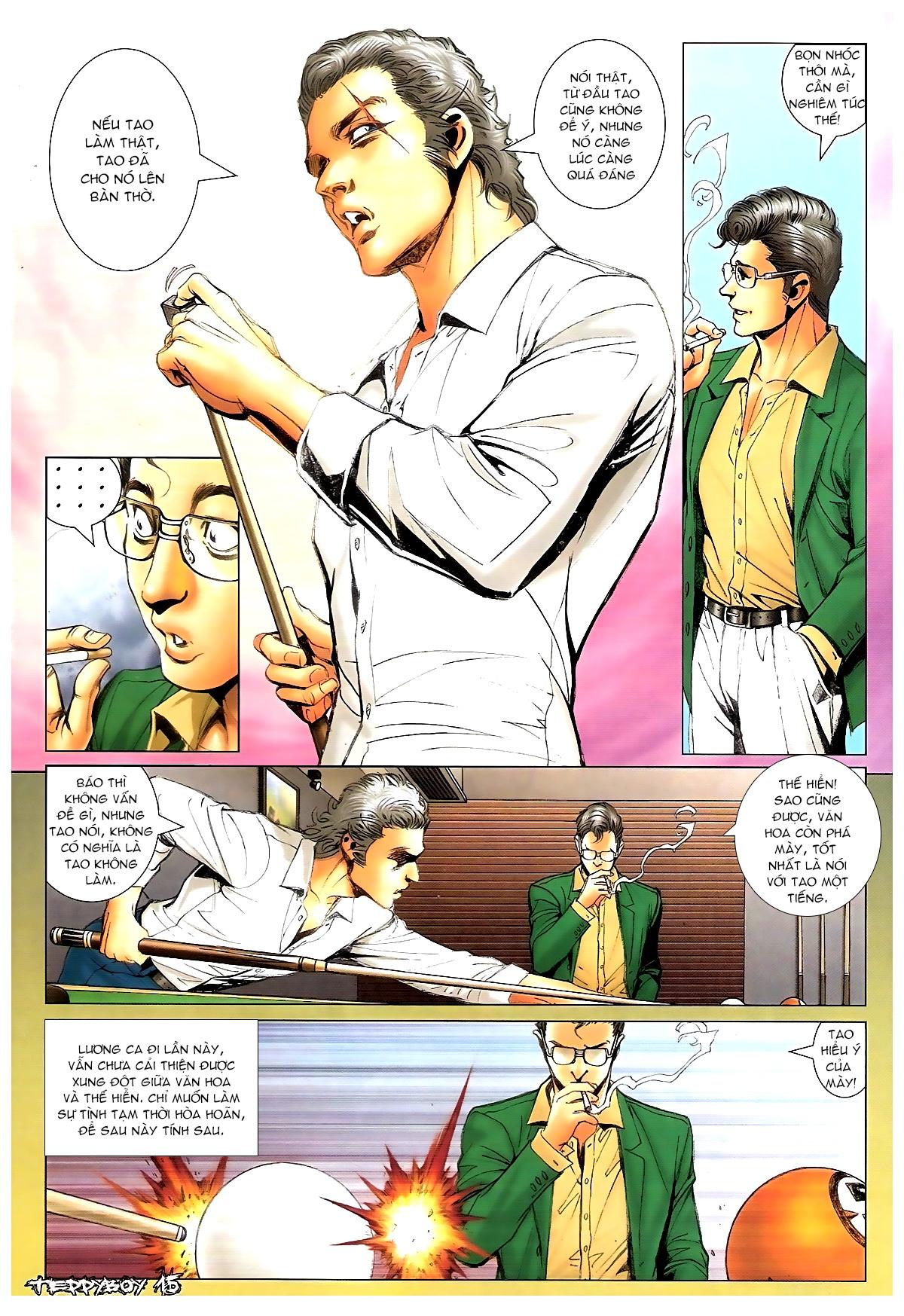 Người Trong Giang Hồ - Chapter 1372: Làm dữ - Pic 13