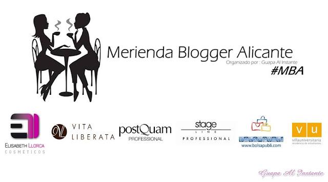 Merienda blogger de Alicante - Parte 2