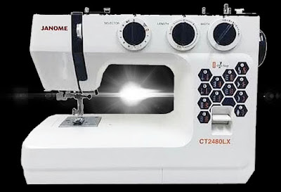 mesin jahit portable janome ct2480lx