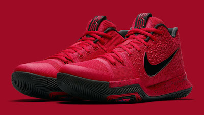 brand new 22bec 255d8 Like the LeBron 13, the Nike Kyrie 3 is releasing in University Red this  month. Fans will recognize this pair as Kyrie Irving s sneakers from this  year s ...