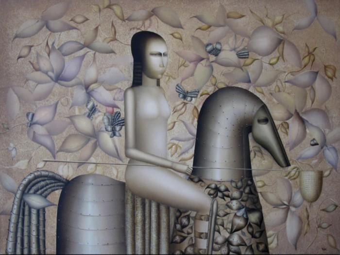 Армянский художник. Армен Геворкян