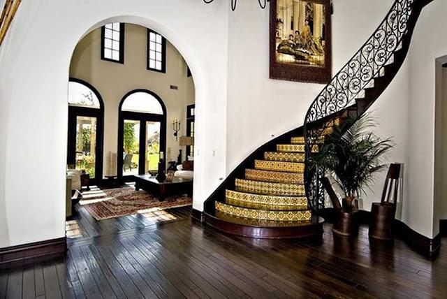 Cầu thang cho biệt thự - mẫu số 2