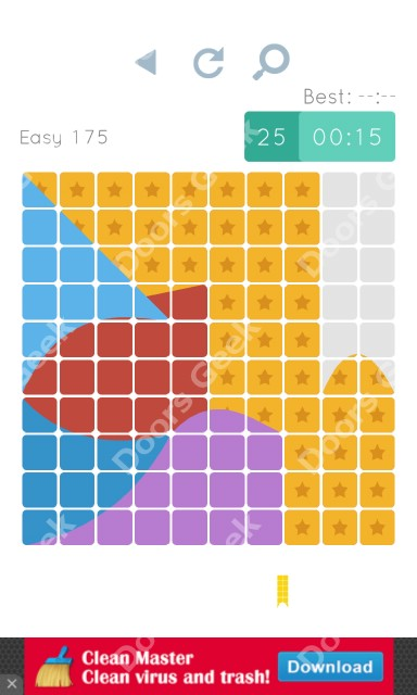 Cheats, Walkthrough for Blocks and Shapes Level 175