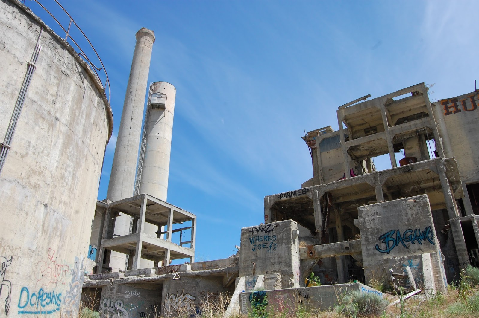 Abandoned Cement Factory : Around seattle almost weekly pics june