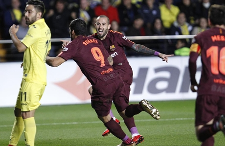 Suarez dan Messi Cetak Gol, Barcelona Kalahkan Villarreal