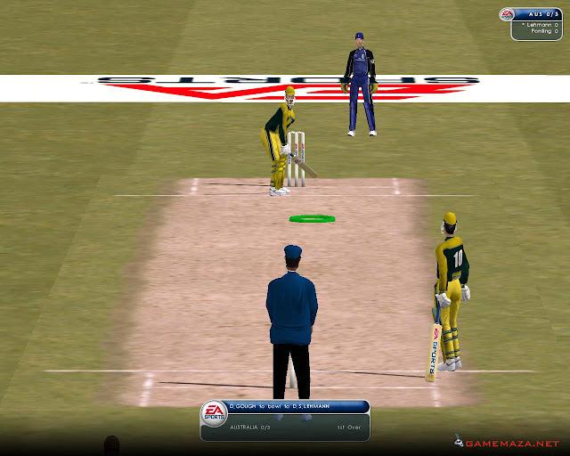 EA Sports Cricket 2002 Gameplay Screenshot 2