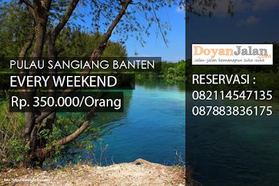open trip ke pulau sangiang