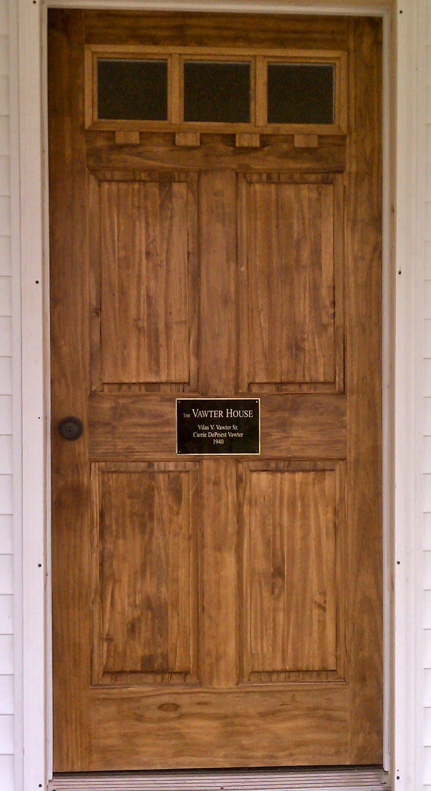 Wooden Doors: Wooden Doors Craftsman Style