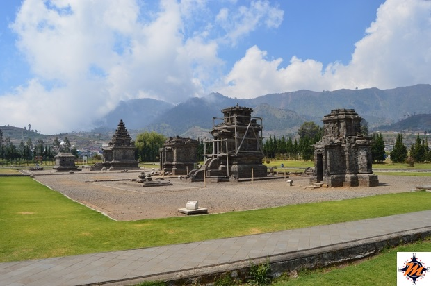 Dieng Plateau, complesso di Arjuna