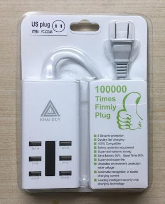 Ổ Cắm Đa Năng HUB 6 USB tại Daklak