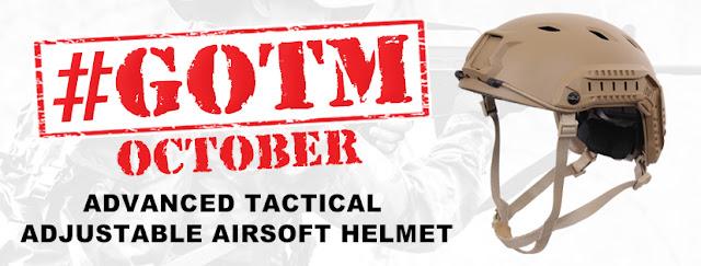 October #GOTM: Advanced Tactical Adjustable Airsoft Helmet