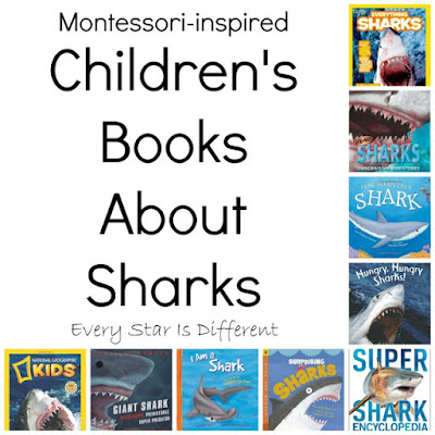 Children's books about sharks
